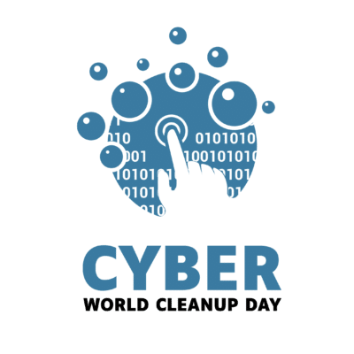 Logo Cyber World CleanUp Day